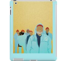 Team Zissou.  iPad Case/Skin