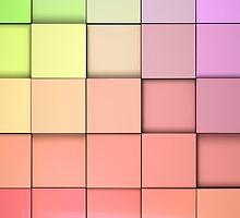 tiles cubes background by carloscastilla