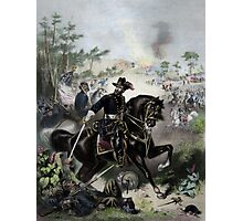 General Grant During Battle Photographic Print