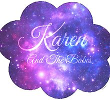 Karen and The Babes (Starry Font) by rhiannontl