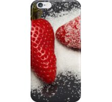 Strawberry with Sugar iPhone Case/Skin