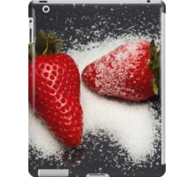 Strawberry with Sugar iPad Case/Skin