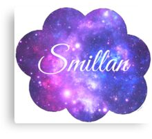 Smillan (White Font) Canvas Print