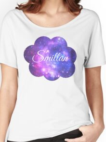 Smillan (White Font) Women's Relaxed Fit T-Shirt