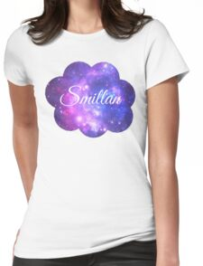Smillan (White Font) Womens Fitted T-Shirt