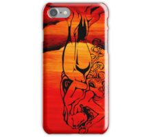 Mother Nature - Sunset Woman iPhone Case/Skin