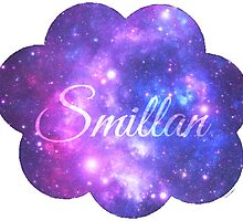 Smillan (Starry Font) by rhiannontl