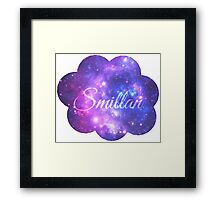 Smillan (Starry Font) Framed Print