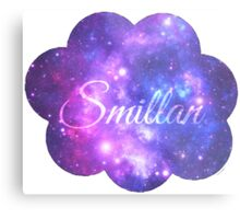 Smillan (Starry Font) Metal Print