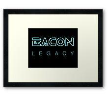 Bacon Legacy Framed Print