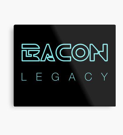Bacon Legacy Metal Print