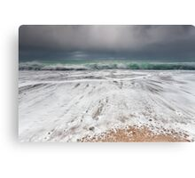 Stormy mood Canvas Print