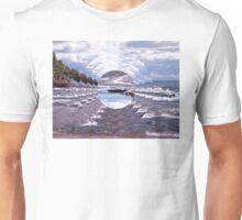 Lake Superior Island Waves Unisex T-Shirt