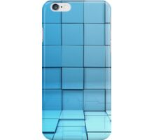 Cubes background iPhone Case/Skin