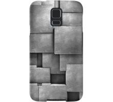 background cement blocks  Samsung Galaxy Case/Skin