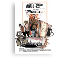 Love and Let Go - Movie poster mash-up Metal Print