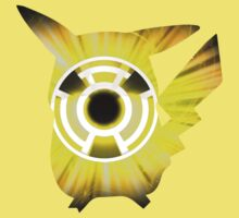 Pikachu Yellow Lantern by Hazzardo