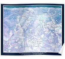 Civil War Maps 1275 Perspective view of Gettysburg National Military Park Inverted Poster