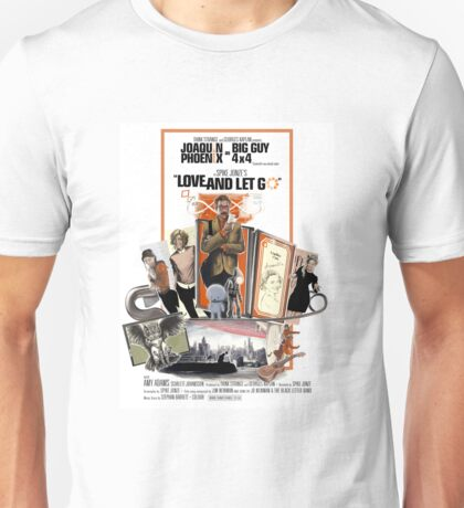 Love and Let Go - Movie poster mash-up Unisex T-Shirt