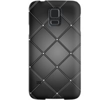 Black tile Samsung Galaxy Case/Skin