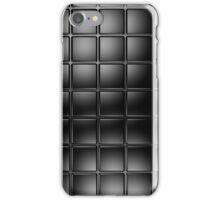 Black tile iPhone Case/Skin