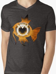 Magikarp Orange Lantern Mens V-Neck T-Shirt