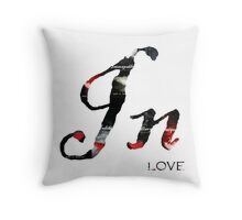 In Love with the Premonition Series Throw Pillow