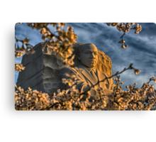 MLK Memorial Cherry Blossoms Canvas Print