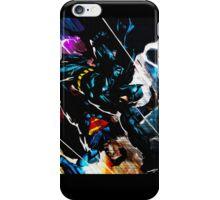 Batman VS Superman Textured Print iPhone Case/Skin