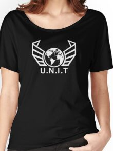 New U.N.I.T (White) Women's Relaxed Fit T-Shirt