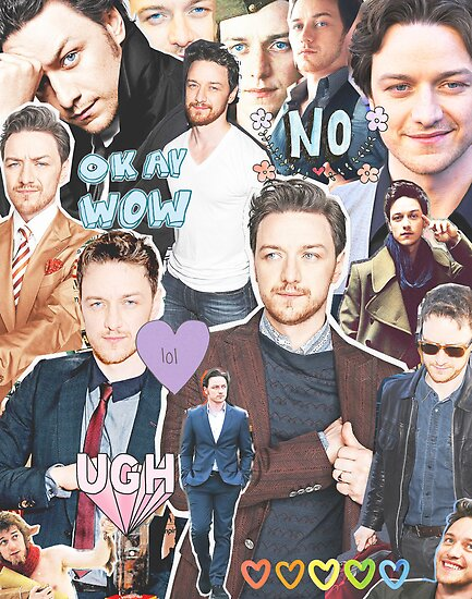 james mcavoy collage by cocosuspenders