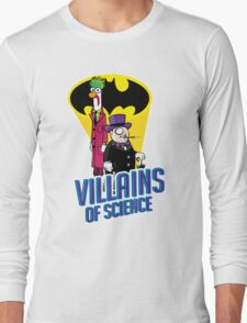 Villains of Science Long Sleeve T-Shirt