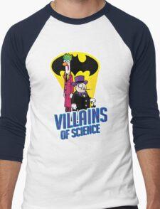 Villains of Science Men's Baseball ¾ T-Shirt