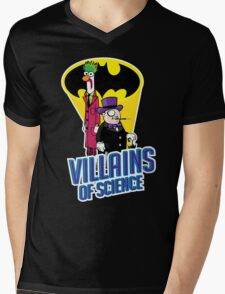 Villains of Science Mens V-Neck T-Shirt