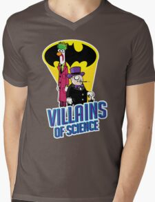 Villains of Science Mens V-Neck T-Shirt
