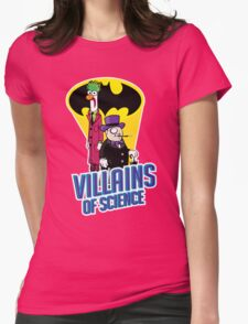 Villains of Science Womens Fitted T-Shirt