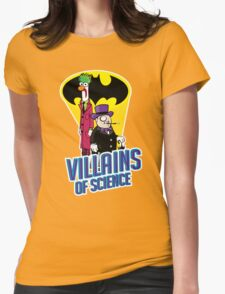 Villains of Science Womens T-Shirt