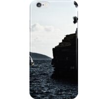 windy day in bodrum iPhone Case/Skin
