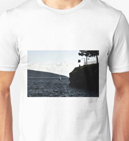 windy day in bodrum Unisex T-Shirt