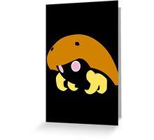 140 Kabuto Greeting Card