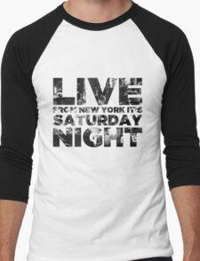 Live from NY Men's Baseball ¾ T-Shirt