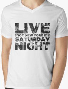 Live from NY Mens V-Neck T-Shirt