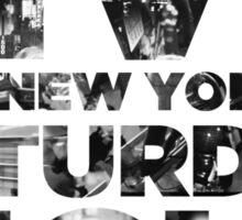 Live from NY Sticker