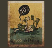 alco drifting by furryclown