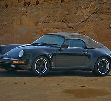 Porsche Convertible by DaveKoontz