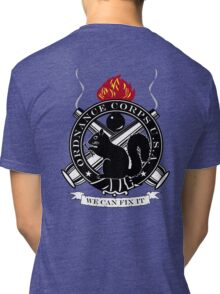 Secret Squirrel Ordnance Corps Tri-blend T-Shirt
