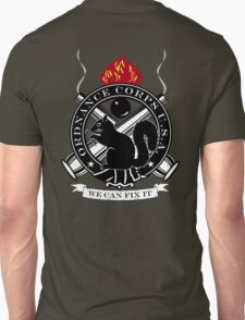 Secret Squirrel Ordnance Corps Unisex T-Shirt