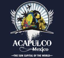 Acapulco Beach Mexico Kids Clothes