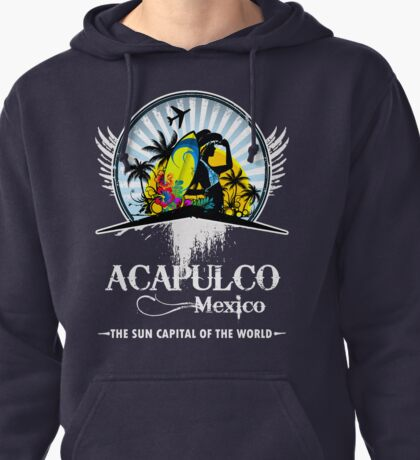 Acapulco Beach Mexico Pullover Hoodie