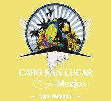 Cabo San Lucas Mexico Beach One Piece - Short Sleeve